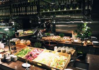 Some buffet options at mezza9 at Grand Hyatt in Macau