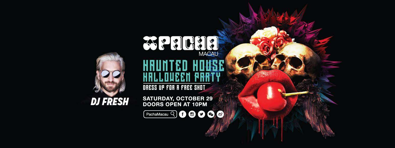 Haunted House Halloween Party at Pacha Macau with DJ Fresh