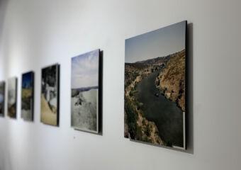 Taipa Village Art Space Indoor Exhibited Photos on the Wall Macau Lifestyle