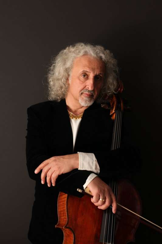 Cellist Mischa Maisky at Macao Cultural Centre