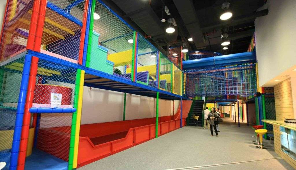 Indoor colourful play centre