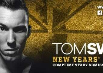 NYE ft.Tom Swoon at Club Cubic