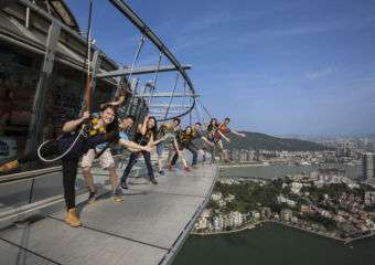 AJ Hackett Macau Tower Skywalk