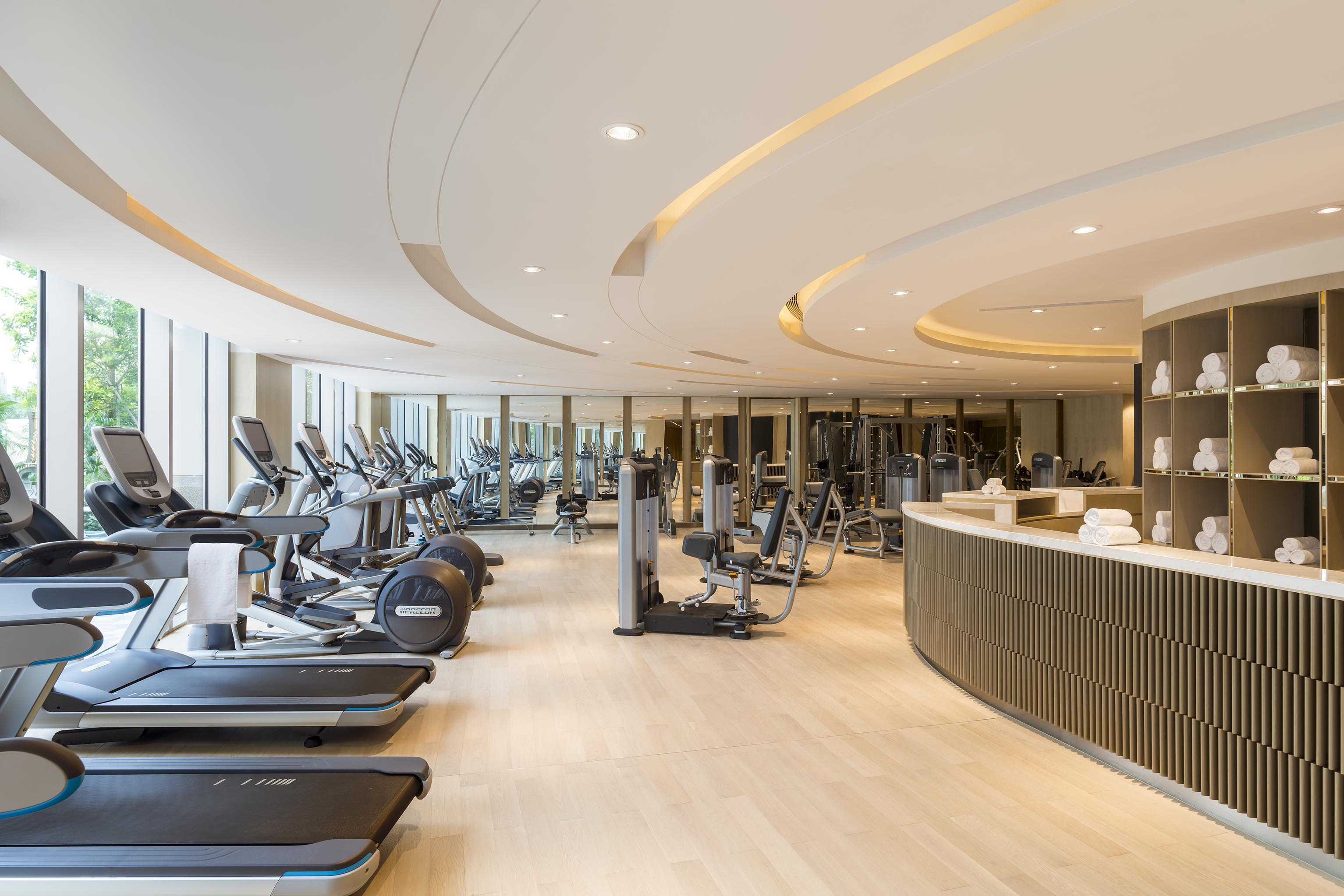 Studio City Gym Interior