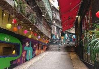 Calçada do Amparo street