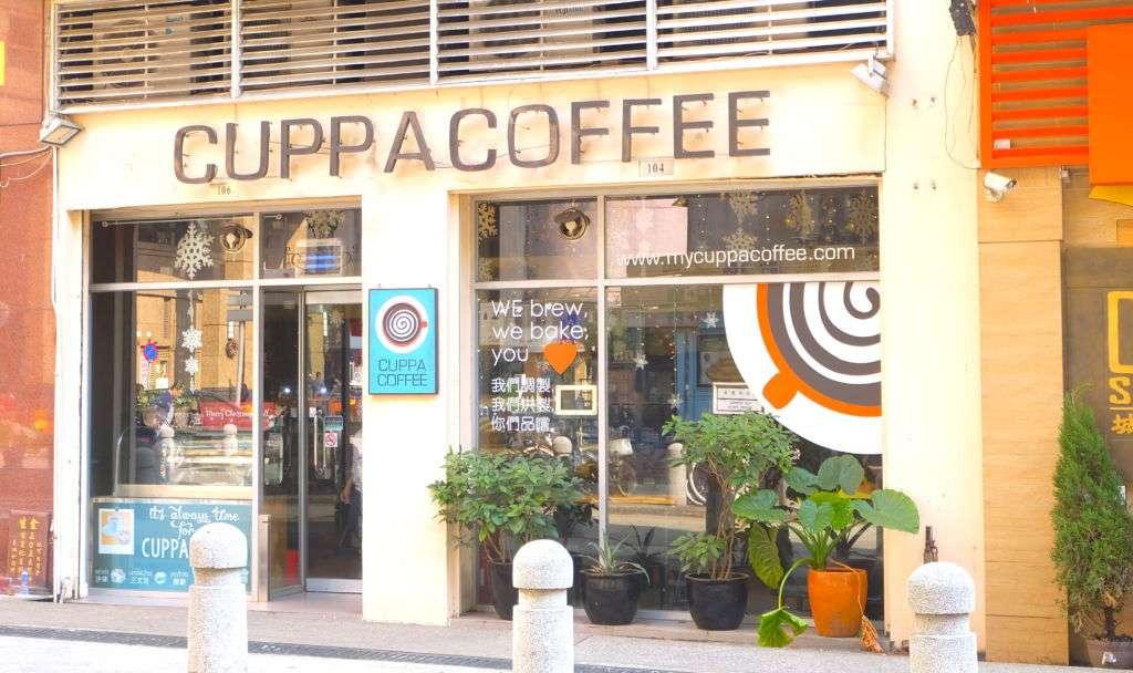 Cuppa Coffee's facade