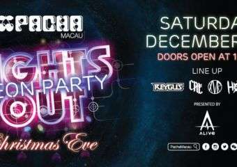 Lights Out Neon Party – Christmas at Pacha