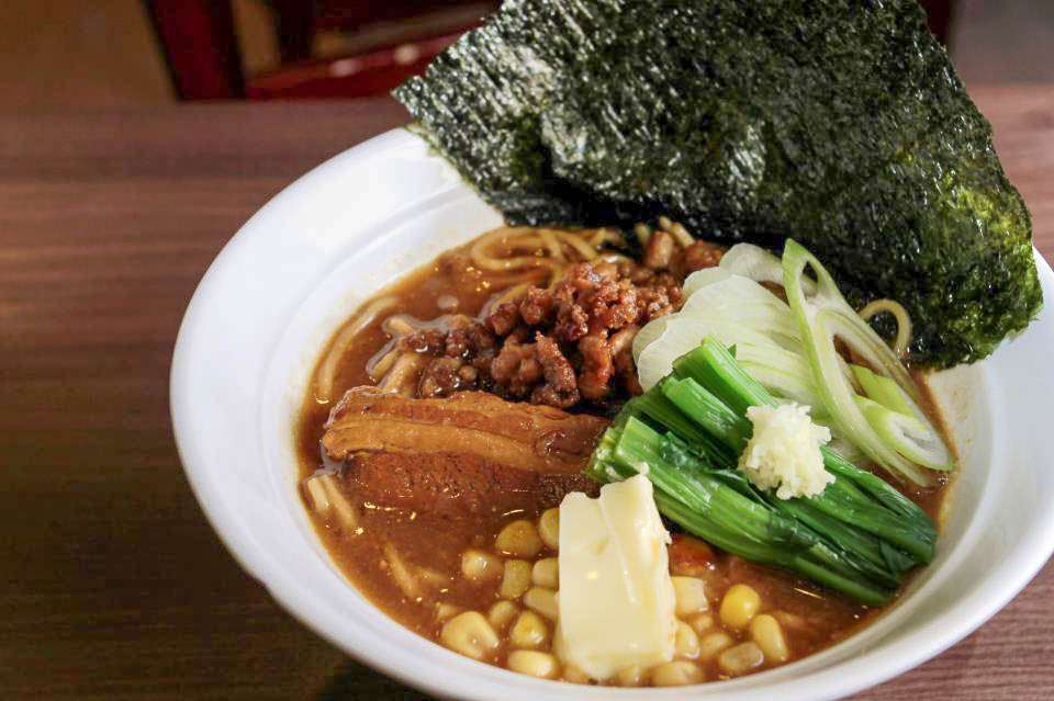 Warm and hot Ramen Kouji's Dip Noodles