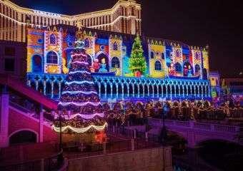 Venetian 3D Light Show 2