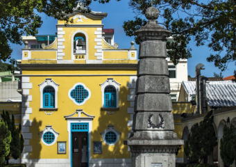 st francis church coloane Macau Day Trip