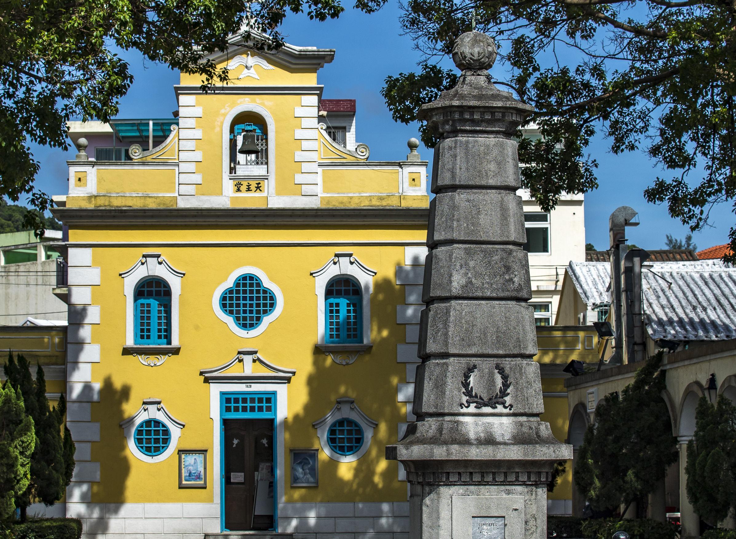 st francis church coloane