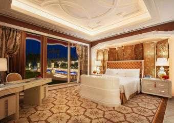 Wynn Palace Cotai garden villa bedroom