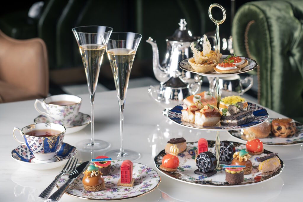 Champagne tea set The St Regis Bar