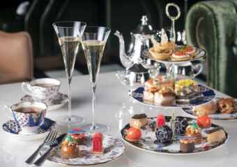 Champagne tea set The St Regis Bar