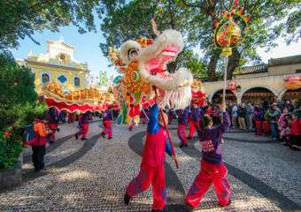 Parade Celebrating the Year of the Rooster