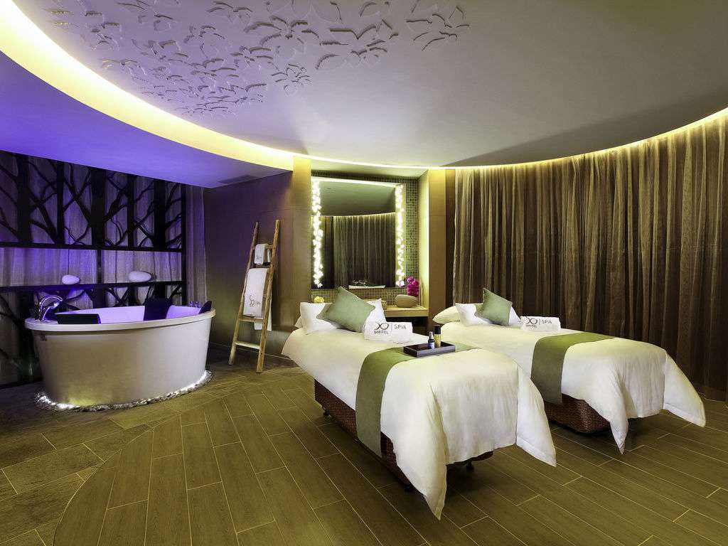 So Spa at Sofitel in Macau.