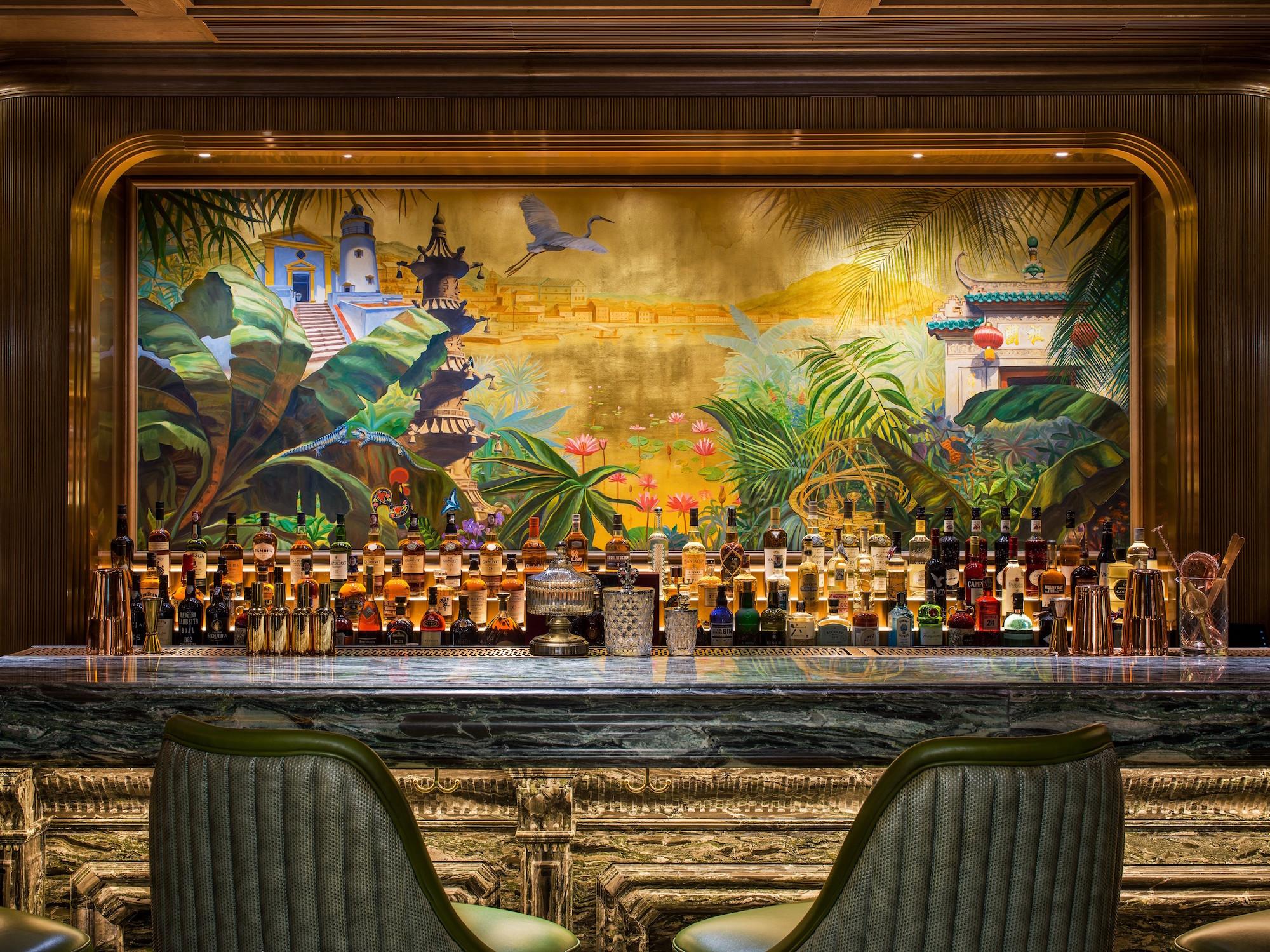 The St. Regis Bar_ The Mural The St Regis Bar