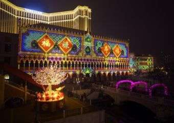 Venetian CNY 3D Mapping Show 3