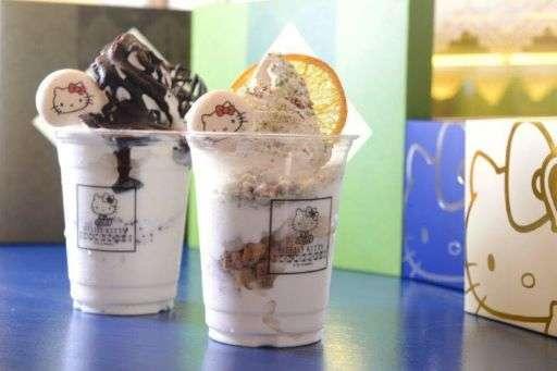 Hello Kitty Obrigado Ice Cream