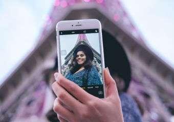 Macau Lifestyle Isabel Bel Faustino Parisian selfie landscape