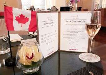 Pop-Up Canada Four Seasons Macao menu