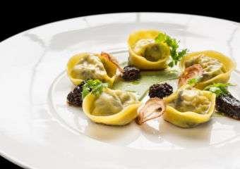 Clam dish from Terrazza