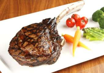 Grade 5 Tomahawk Steak 38oz Grand Lisboa, The Kitchen