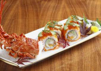 Lobster Tempura Roll with Avocado Grand Lisboa, The Kitchen