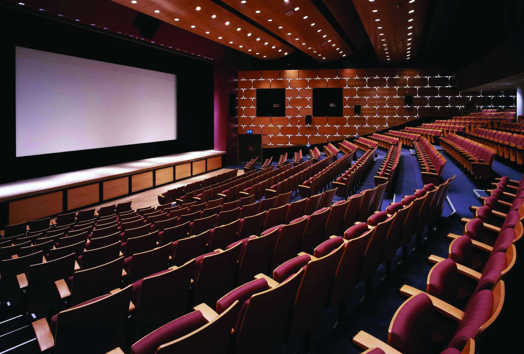 Interior of Macau Tower theatre