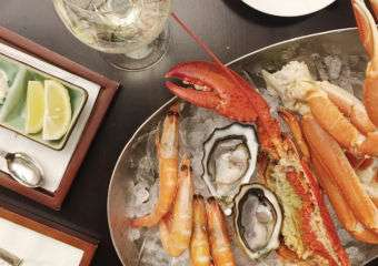 Seafood brunch at The Manor restaurant in The Regis Macao