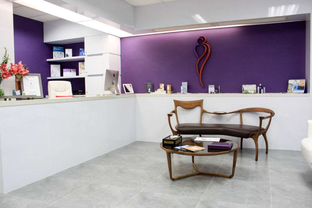 Interior of Dali Clinic