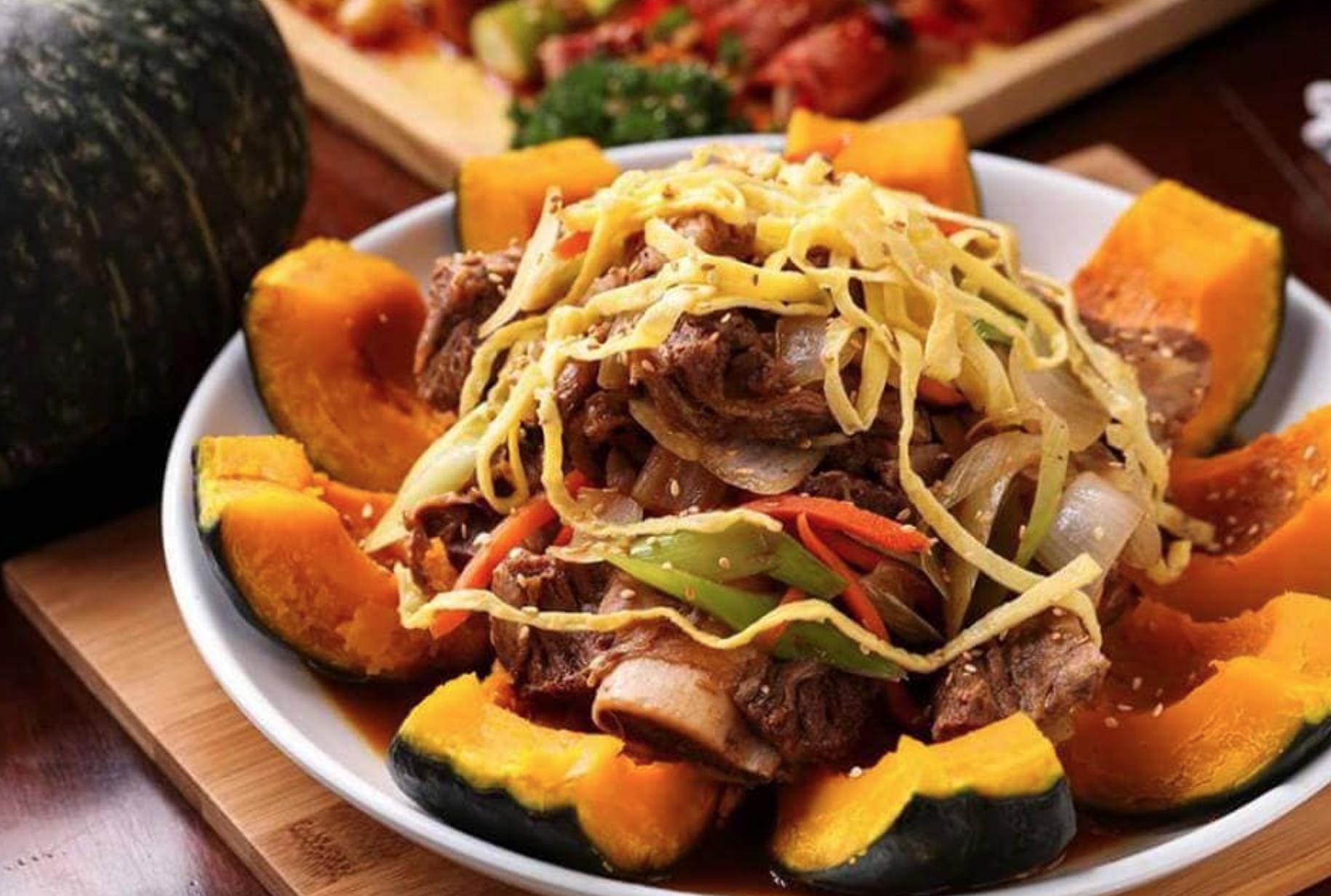 Kims Korea Cafe Macau Pumpkin Dish.jpg