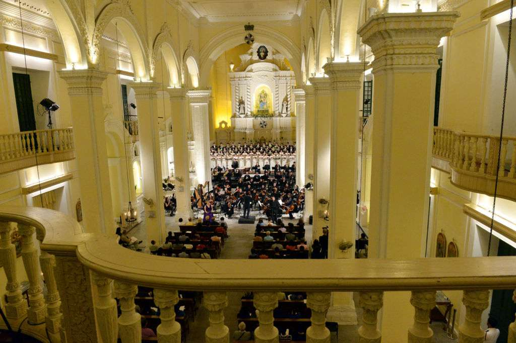 The Macao Orchestra's Easter Concert at St. Dominic's Church