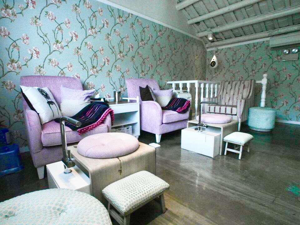 Interior shot of Nail haven