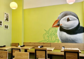 Puffin Cafe Interior Tables Macau Lifestyle