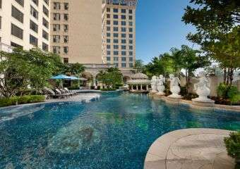 Swimming pool at Sofitel Macau Ponte 16