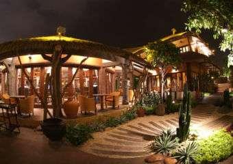 Afrikana Bar pavillions
