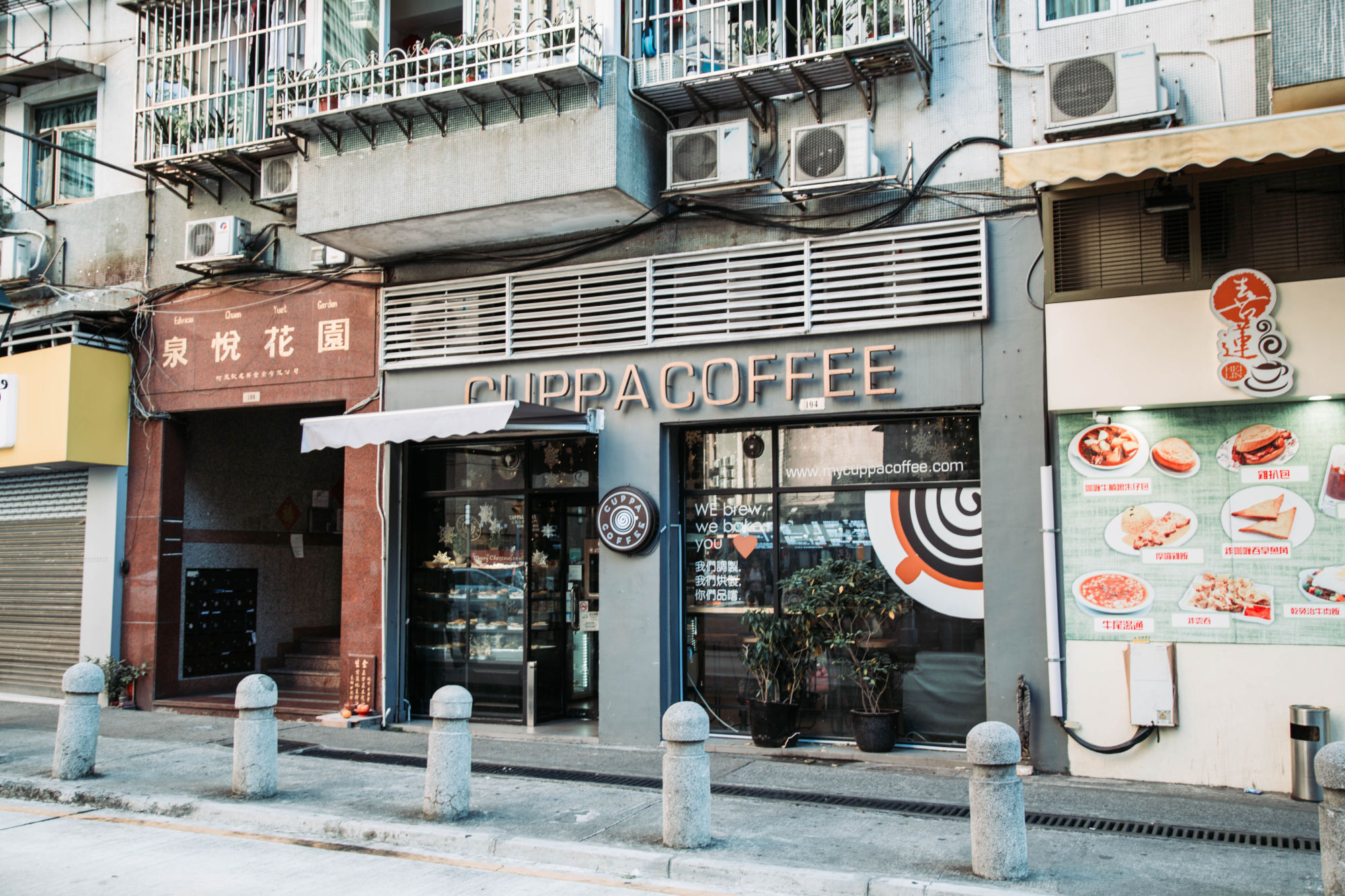 Cuppa Coffee Front Door Macau Lifestyle