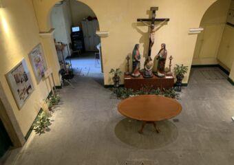 Ground Floor Inside the Treasure of Sacred Art of St Dominics Church Indoor Macau Lifestyle
