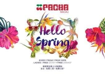 Hello Spring at Pacha Macau