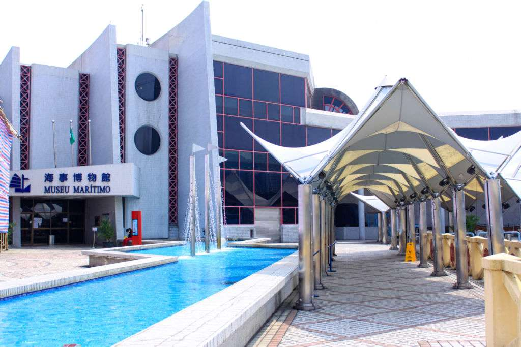 Macao Maritime Museum's entrance