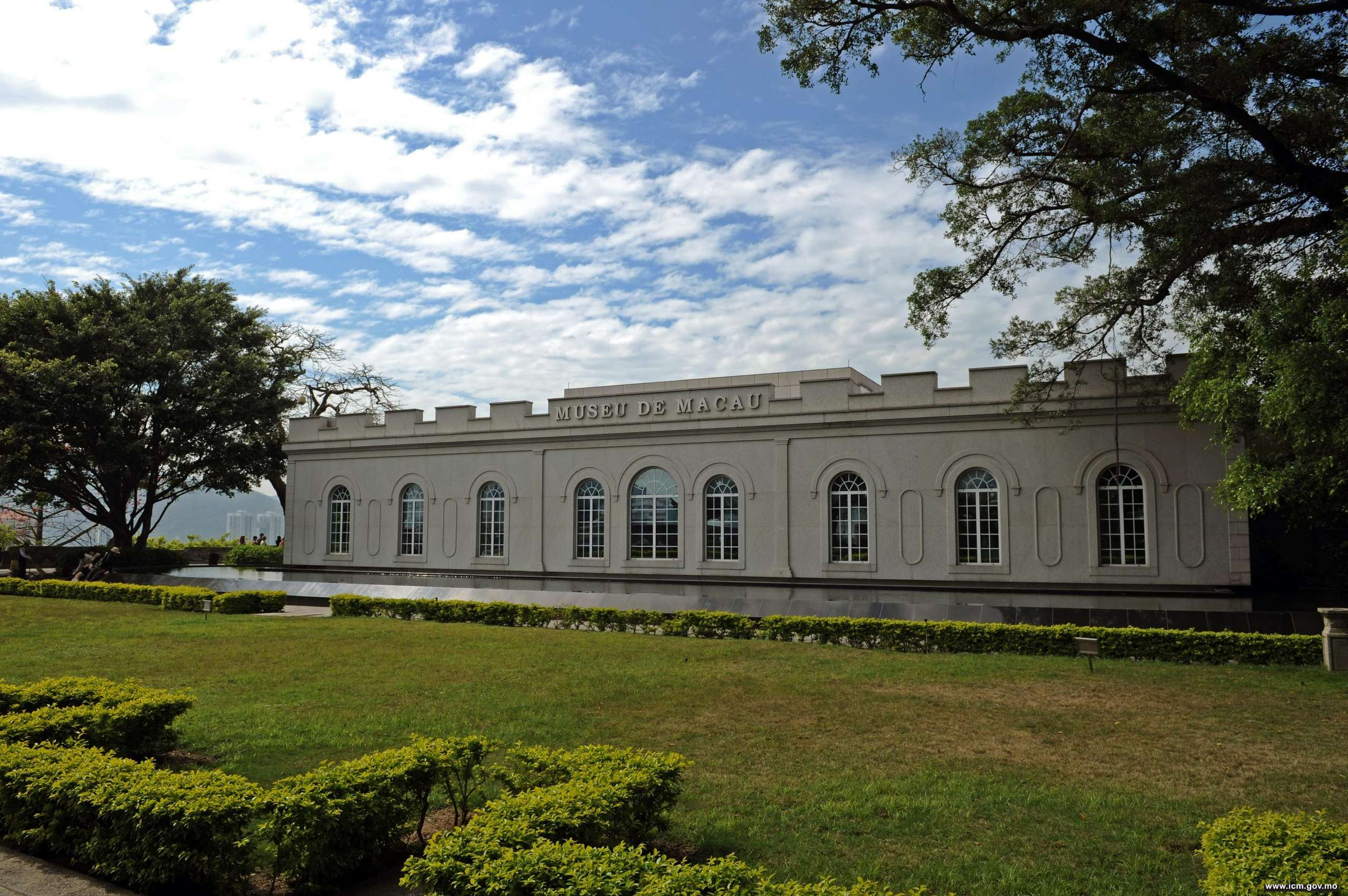 Macau Museum building outside