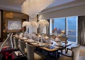 Mandarin Oriental Presidential Suite dining room