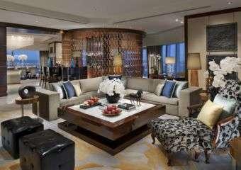 Mandarin Oriental Presidential Suite living room