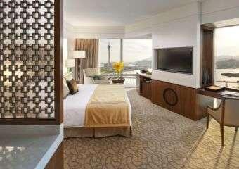 Mandarin Oriental deluxe corner room