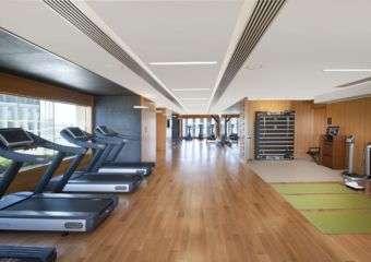 Mandarin Oriental fitness centre