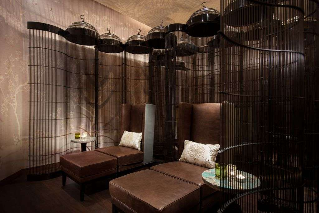 Spa beds at The Ritz-Carlton in Macau