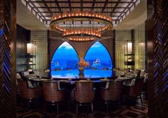 Ritz Carlton – Lai Heen Main Private Dining Room Entrance