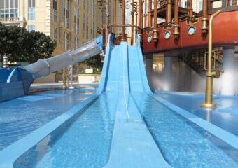 Slide at Aqua World Parisian Macao