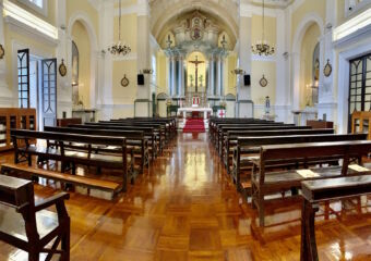 St Anthony Church Wide View Macau Lifestyle